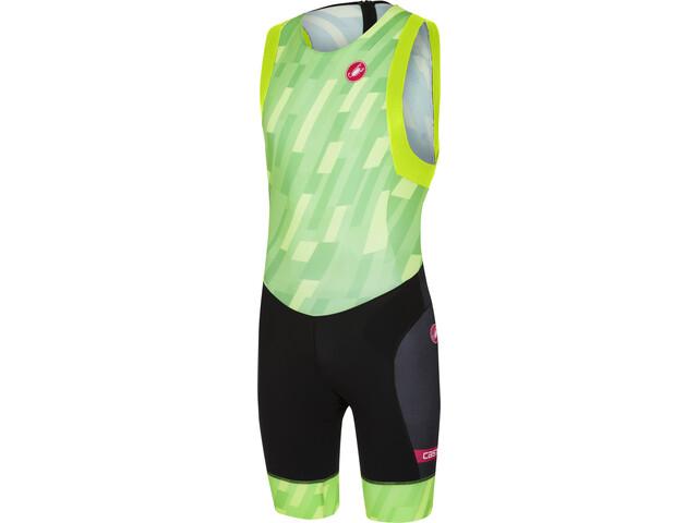 Castelli Free ITU Tri Suit Men pro green/black